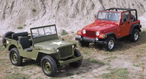 WWII and Modern Jeeps