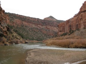 The Dolores River Leaving the Paradox Valley