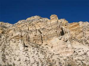 The World Famous Green River Formation, for oil shale, not beauty